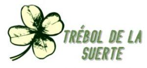 Trébol de 4 hojas logo